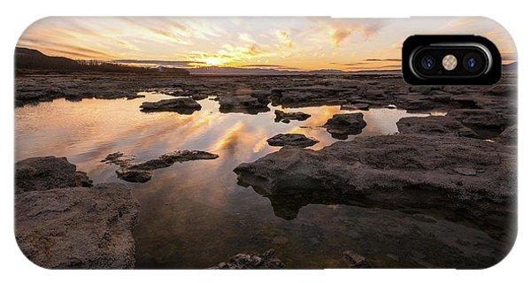 Rocky Shores Of Utah Lake IPhone Case