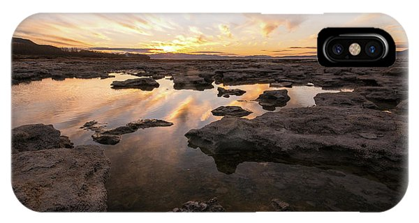 Rocky Shores Of Utah Lake IPhone Case