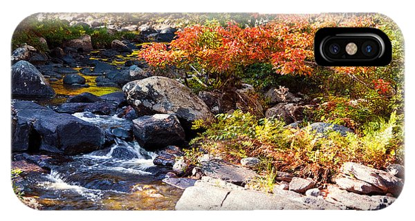 Rocky Stream Waterfalls IPhone Case
