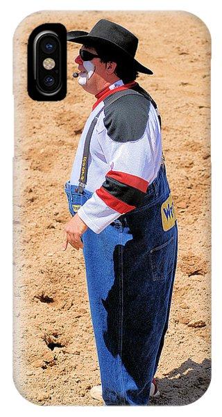 Rodeo Clowns Phone Case by Cheryl Poland