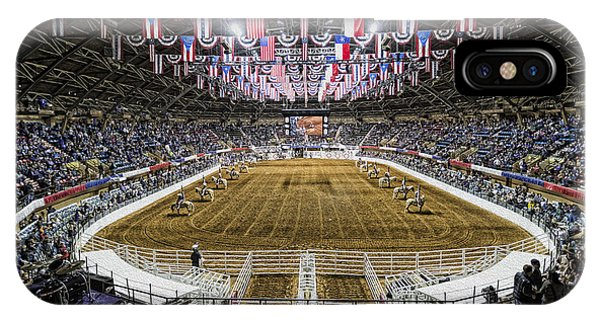 Bunting iPhone Case - Rodeo Time In Texas by Stephen Stookey