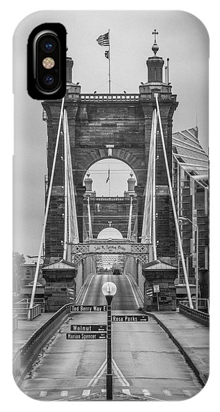 Roebling Bridge IPhone Case