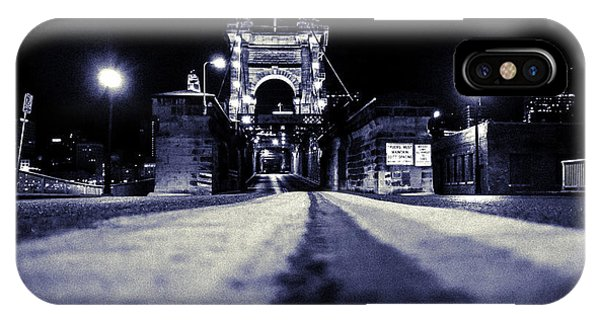 Roebling Suspension Bridge IPhone Case