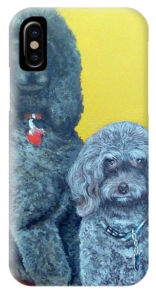 Roger And Bella IPhone Case
