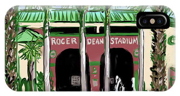 Roger Dean Stadium IPhone Case