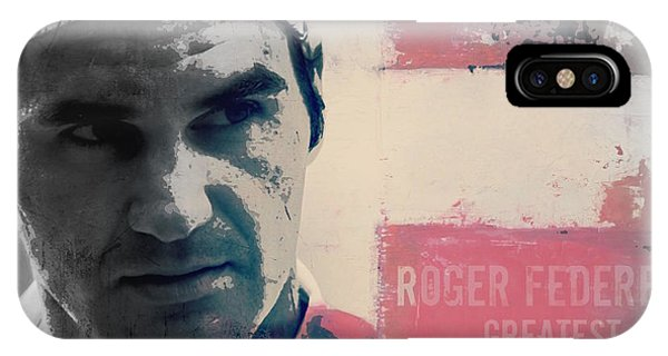 Roger Federer  IPhone Case