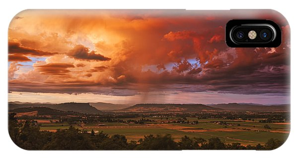 Rogue Valley Sunset IPhone Case