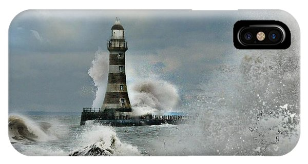 Roker Pier And Lighthouse IPhone Case