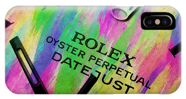 Oyster Bar iPhone Case - Rolex Watercolor IIi by Ricky Barnard