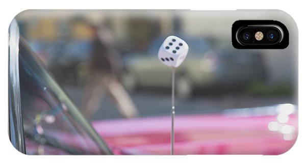 IPhone Case featuring the photograph Roll The Dice by Lora Lee Chapman