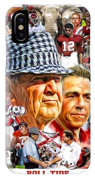 Alabama iPhone Case - Roll Tide by Mark Spears