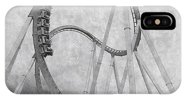 Hulk Roller Coaster Ride IPhone Case