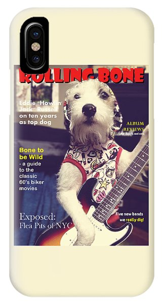 IPhone Case featuring the photograph Rolling Bone Magazine by Richard Reeve