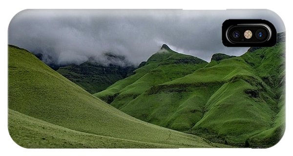 Rolling Green Drakensberg Mountains IPhone Case