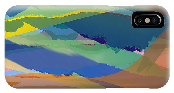 Rolling Hills Landscape IPhone Case