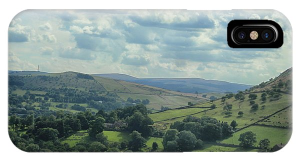 English Countryside iPhone Case - Rolling Hills by Martin Newman