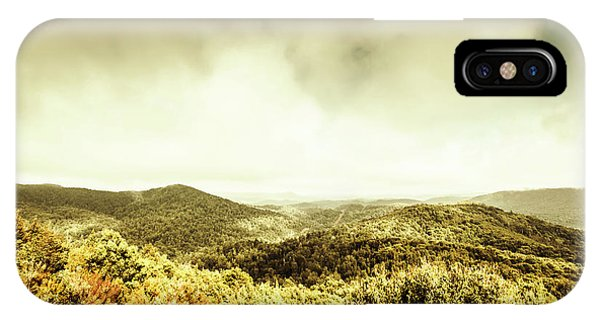 Natural iPhone Case - Rolling Hills Of The Tarkine, Tasmania by Jorgo Photography - Wall Art Gallery