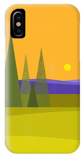 Rolling Hills - Vertical IPhone Case