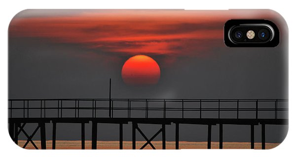 Rolling Down On The Sea IPhone Case