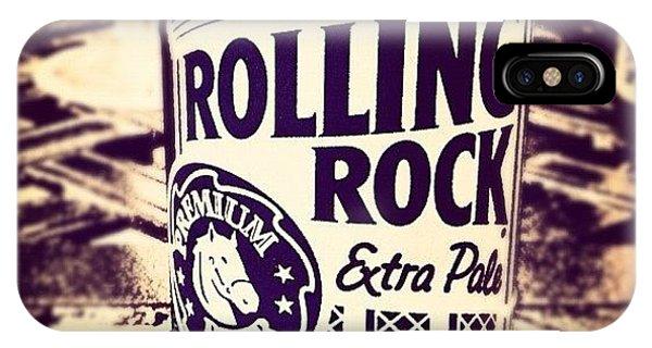 Rolling Rock. #american #beer IPhone Case