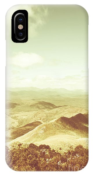 Pastel iPhone Case - Rolling Rural Hills Of Zeehan by Jorgo Photography - Wall Art Gallery