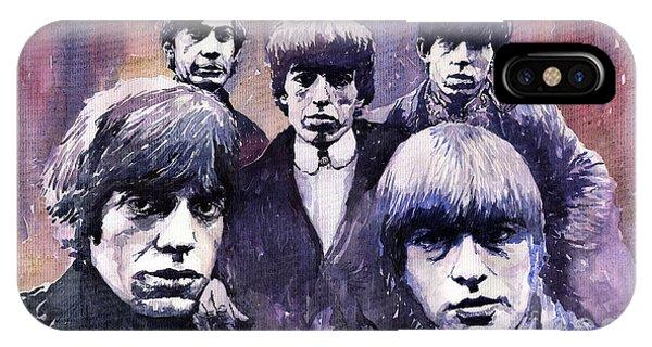 Rolling Stone Magazine iPhone Case - Rolling Stones  by Yuriy Shevchuk