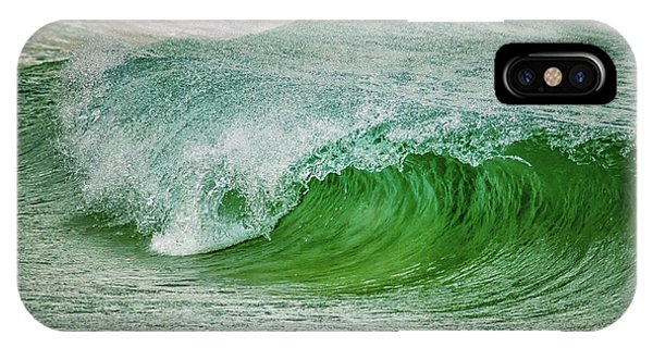 Tidal Waves iPhone Case - Rolling Wave by Stelios Kleanthous