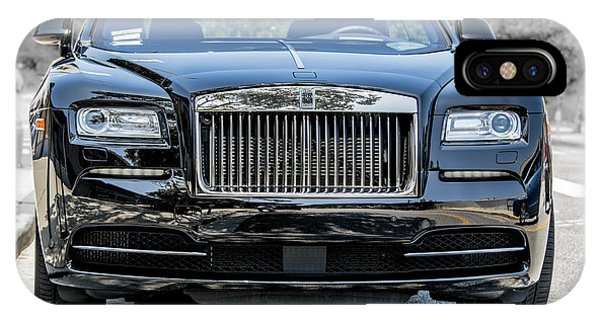 Rolls - Royce Wraith Coupe 2016 IPhone Case