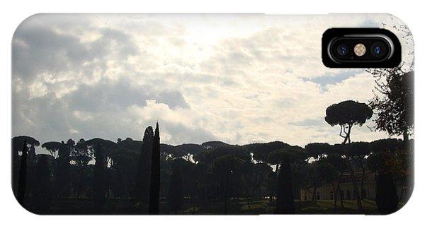 Roma, Villa Borghese IPhone Case