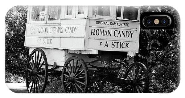 Roman Candy - Bw IPhone Case