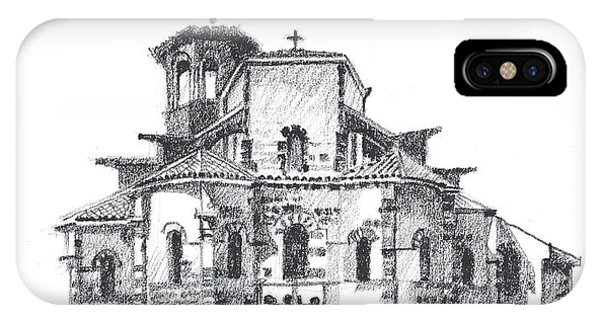 Roman Church At Chamalieres IPhone Case