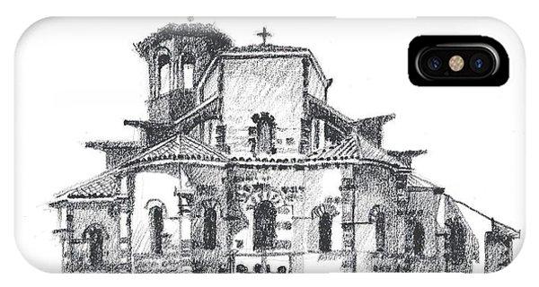 Roman Church At Chamalieres IPhone Case