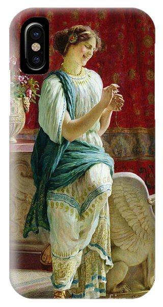 Roman Girl IPhone Case