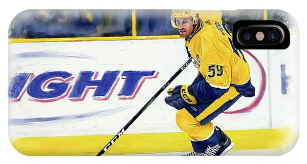 Roman Josi IPhone Case