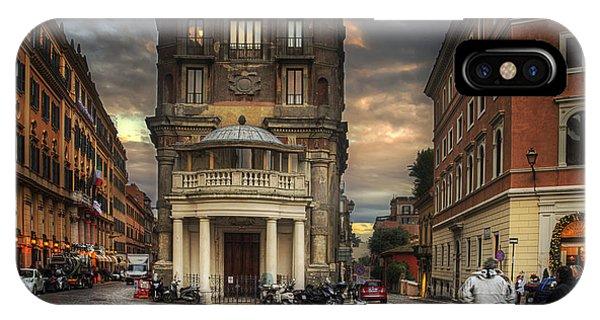Roman Streets IPhone Case