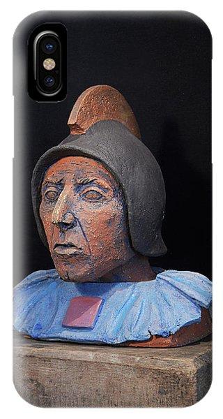 Roman Warrior Roemer - Roemer Nettersheim Eifel - Military Of Ancient Rome - Bust - Romeinen IPhone Case