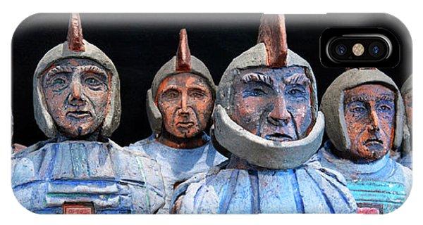 Roman Warriors - Bust Sculpture - Roemer - Romeinen - Antichi Romani - Romains - Romarere IPhone Case