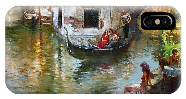 In iPhone Case - Romance In Venice 2 by Ylli Haruni
