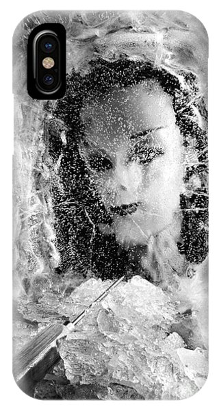 Romancing The Ice Princess IPhone Case