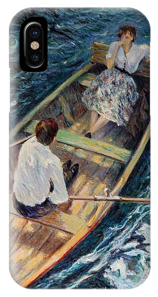 Dordogne , Beynac-et-cazenac , France ,romantic Boat Trip IPhone Case