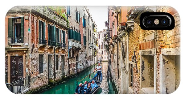 Romantic Gondola Scene On Canal In Venice IPhone Case