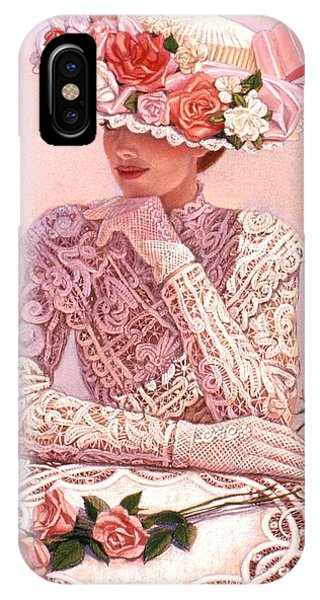 Romantic Lady IPhone Case