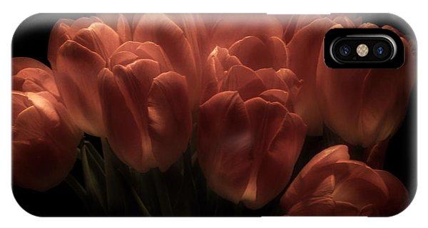 Romantic Tulips IPhone Case