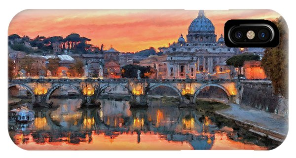Rome And The Vatican City - 01  IPhone Case