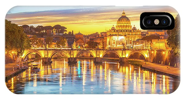 Rome At Twilight IPhone Case
