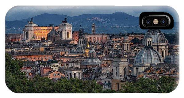 Rome Twilight IPhone Case