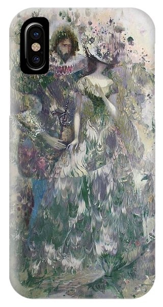 Romeo And Juliet. Monotype IPhone Case