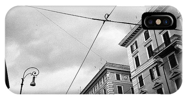 Rome's Downtown Cable Sky IPhone Case