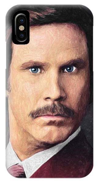 Elf iPhone Case - Ron Burgundy by Zapista