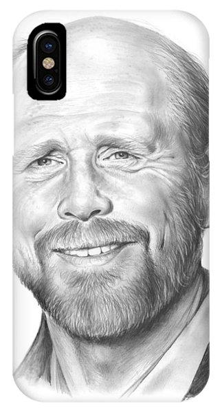 Ron Howard IPhone Case
